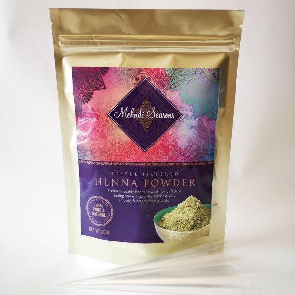henna powder 200g