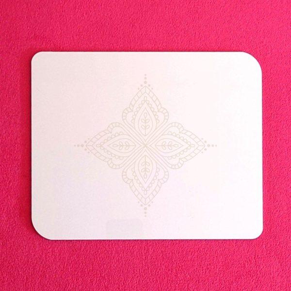 white henna board