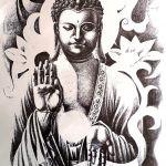 Buddha Body Tattoo